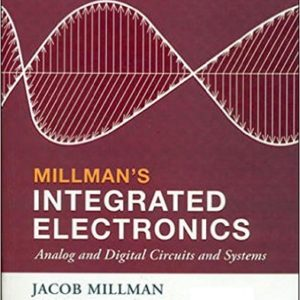 Integrated Electronics Book by Jacob Millman