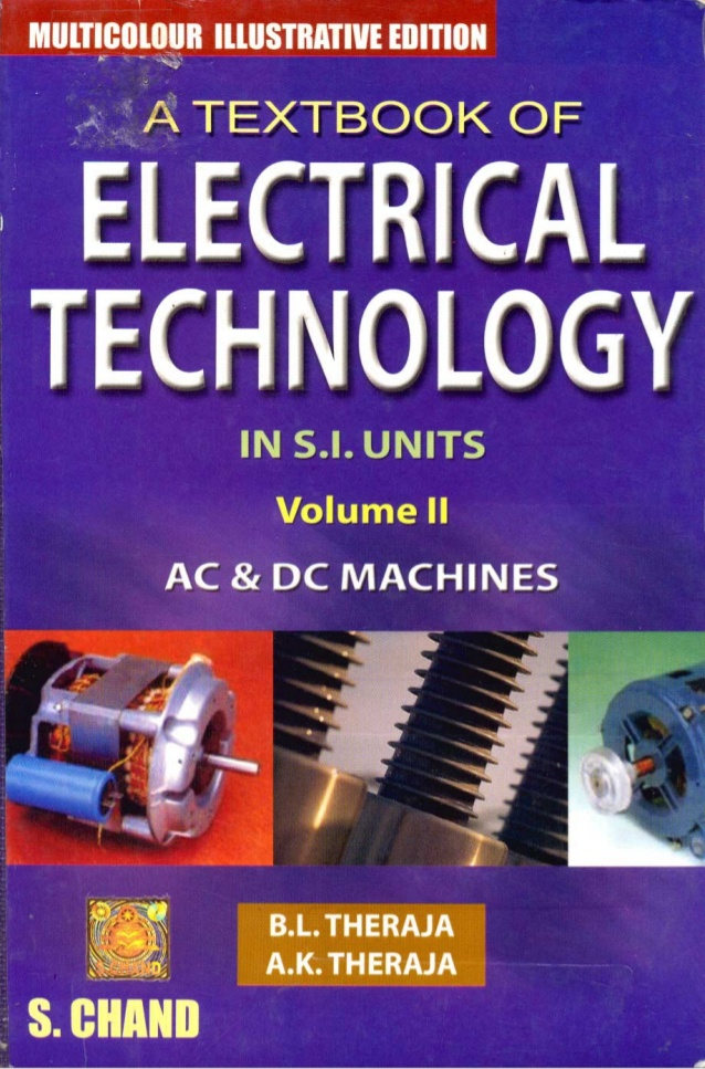 AC and DC machines by B L Thareja